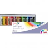Giz Pastel Oleoso 25 cores - Pentel