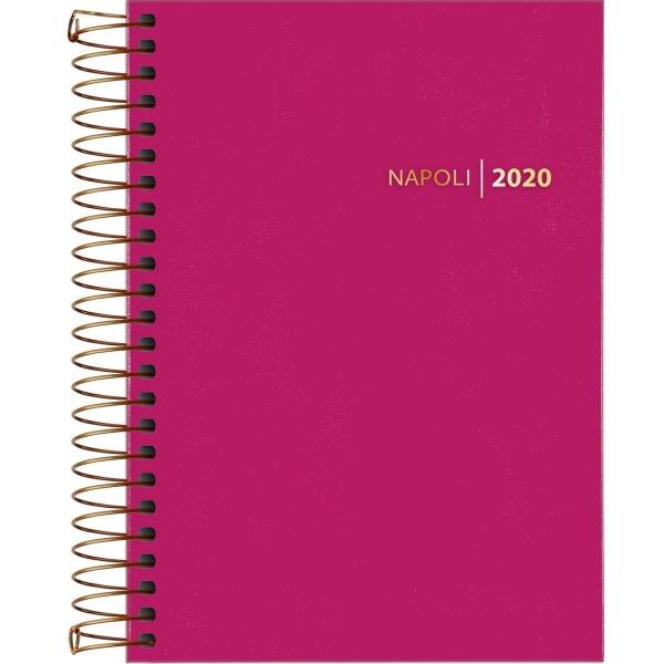 Agenda Espiral Napoli Feminina 2020 - Tilibra