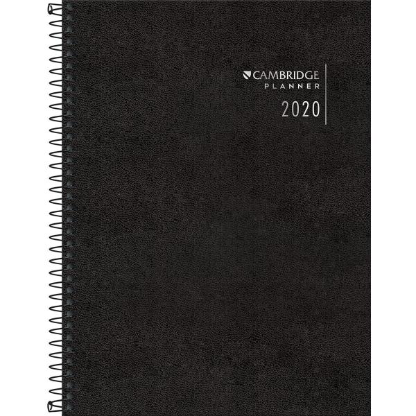 Planner Executivo Espiral Cambridge 2020 - Tilibra