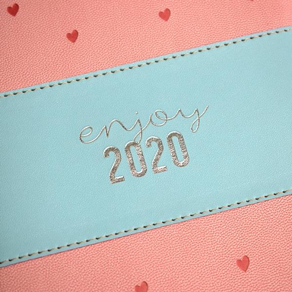 Agenda Mini Corações 2020 - DAC