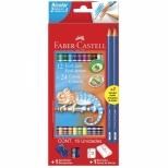Ecolápis de Cor Bicolor 24 Cores - Faber-Castell