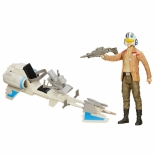 Poe Dameron 12' + Speeder Bike - Hasbro