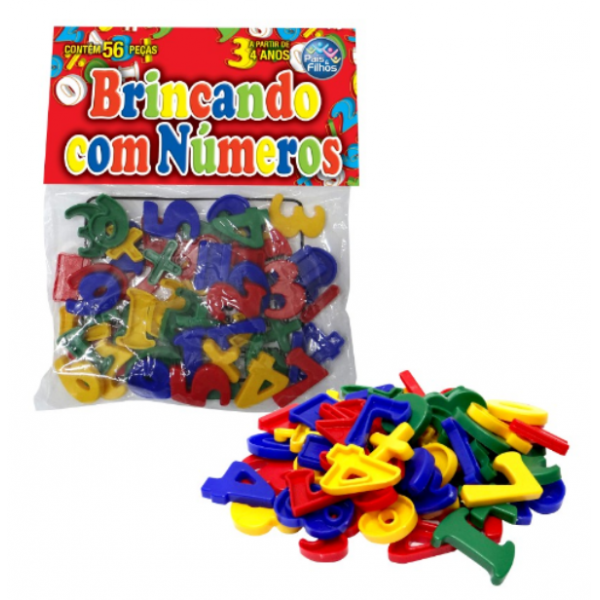 Brincando com Números - Pais e Filhos