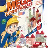 Mega Construções 76 peças - Pais e Filhos