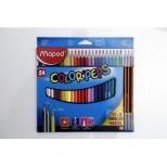 Lápis de Cor Color'Peps 24 cores + 3 Lápis Grafite HB - Maped
