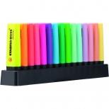 Marca Texto Stabilo Boss  Deskset  Com 9 Cores Fluo + 6 Cores Pastel - Stabilo