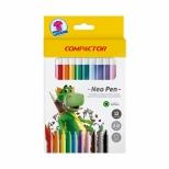 Hidrográfica Neo Pen Gigante 12 cores - Compactor