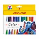 Hidrográfica Compactor Color 12 cores - Compactor