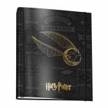 Fichário Universitário c/elástico Harry Potter - DAC